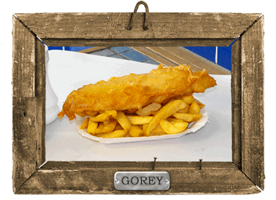Fish and Chips in Gorey Jersey